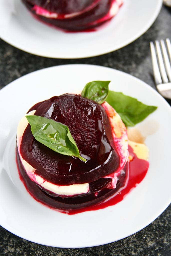 beets and mozzarella recipe